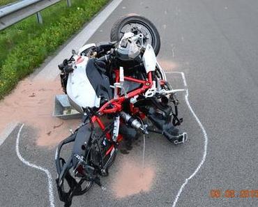 Tödlicher Verkehrsunfall A39