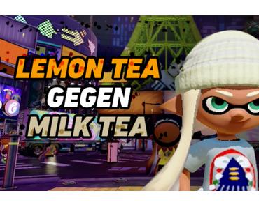Lemon Tea VS Milk Tea – Splatoon Splatfest in Japan