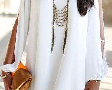 Fashion Trend Watch: Weiße Sommerkleider