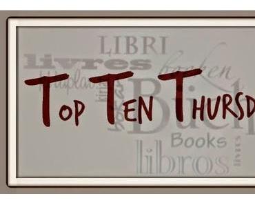 Top Ten Thursday # 220 | 10 Bücher, die du kaum aus der Hand legen konntest