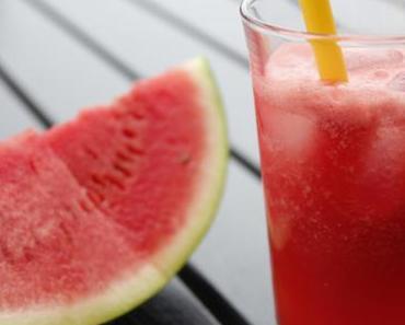 Thirstday: Granatapfel-Sprudel
