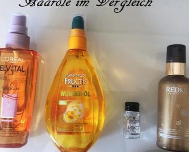 Haaröle im Vergleich