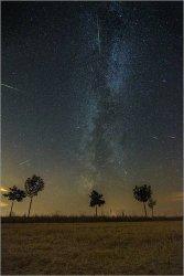Heute Nacht an die Perseiden denken (Sternschnuppen fotografieren)