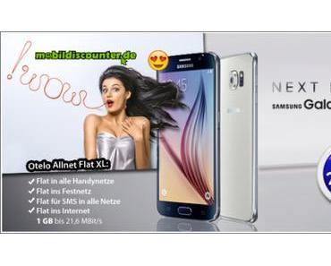 Mobilfunk Angebot: Samsung Galaxy S6 inkl. LTE Allnet Flat für 29,99 Euro!