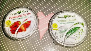 vegane Aufstriche Schnittlauch und Tomate von Green Heart