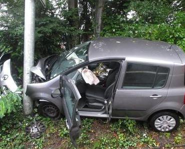 Schwerer Verkehrsunfall Mettmann 17 August