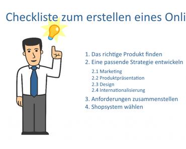 Checkliste: Onlineshop erstellen – so einfach geht´s