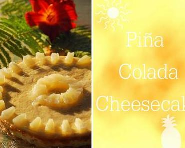 Karibischer Piña Colada Cheesecake [Cakes of the Caribbean!]