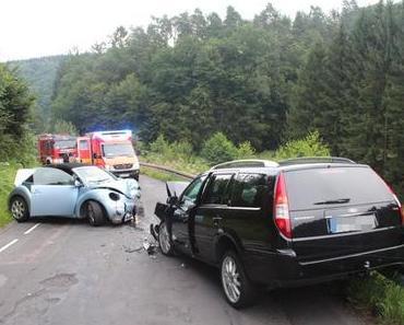 Schwerer Verkehrsunfall Breidenassel