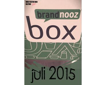 [BRANDNOOZ] Juli 2015 Box