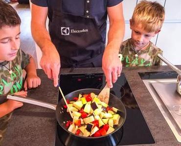 Teamwork in der Küche: Zusammen machts mehr Spass