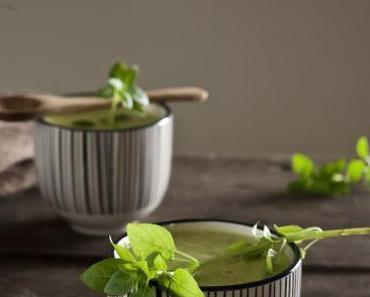 Kalte Zucchini-Zitronen-Suppe