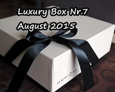 Luxury Box Nr. 7 - August 2015