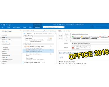 Microsoft Office 2016 kommt am 22. September