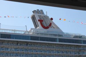 TUI Cruises tauft Mein Schiff 5 in Lübeck-Travemünde