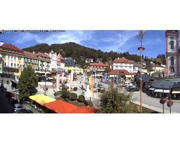 Neue Mariazell Hauptplatz Webcam