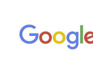 Google mit neuem schnörkellosem Logo
