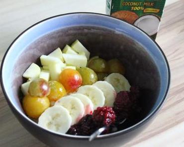 Clean Eating: Raffaello Porridge