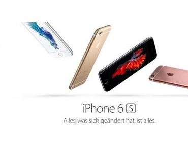 Apple stellt iPhone 6s und iPhone 6s Plus vor