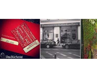 Ein buchiger Einkaufsbummel durch das Kulturkaufhaus Dussmann