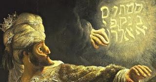 mene mene tekel upharsin • Belsazer • Ballade • Heinrich Heine