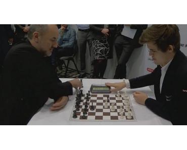 Blitz-Schach … im wahrsten Sinne des Wortes