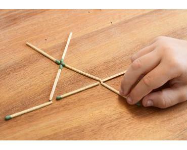 Knobeleien und Denksportaufgaben: Spielen mit Streichhölzern erlaubt!
