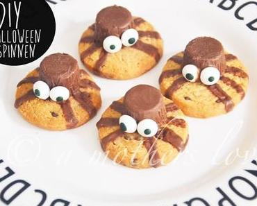 Halloween Spinnen-Kekse