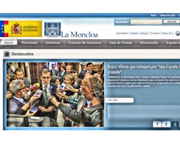 Mein Name ist Mariano Rajoy, ich wasche meine Hände in Unschuld