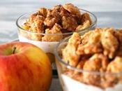 Sweet Sunday: Apfelkuchen Glas