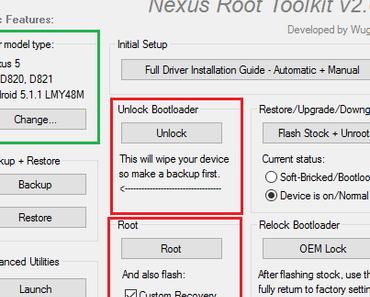 Nexus 5 rooten