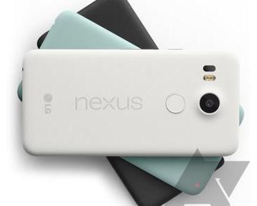 Nexus 5X und Nexus 6P zeigen sich auf Pressefotos