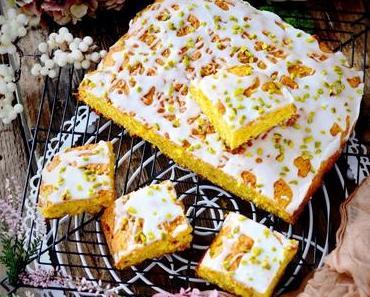 Pumpkin Cake - super saftiger Kürbiskuchen