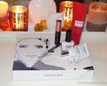 [Unboxing] Glossybox September Black & White Edition
