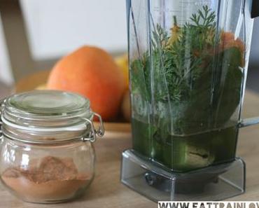 Grüner Smoothie mit wahren Superfoods – der perfekt gesunde Start in den Tag!