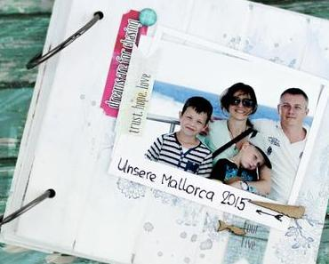 "Mini Album ""Our Mallorca"" for UmWowStudio"