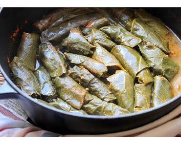 Etli Karalahana Sarması / Grünkohlroulade mit Fleischfüllung nach türkischer Art