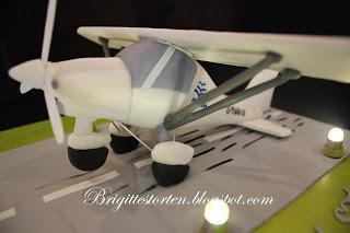 Ultraleicht Flieger CS42 aus Zucker als Torte/Cake