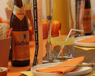 Schöfferhofer Night in Orange oder was man mit Weizen alles kochen kann... {Werbung}