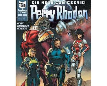 Perry Rhodan: Cross Cult startet neue Comicserie am 14. Oktober 2015!