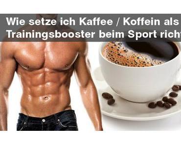 Kaffee eine Stunde vor dem Training – Der Trainingsbooster
