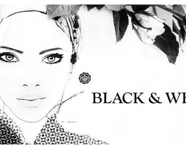 """A butterfly: Glossybox September 2015 """"Black & White Edition"""""""