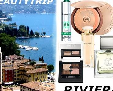 Produktabbildungen © PR: Zegna, Givenchy, Sisley, Ferragamo, Guerlain gegen den alltagsstress - ein beauty trip an die riviera
