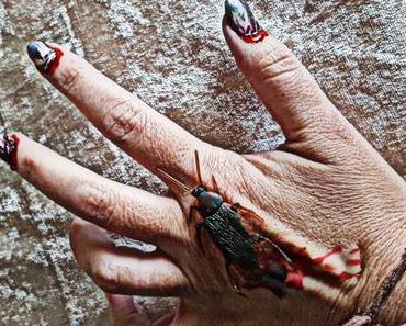 DIY-Zombiefingernägel