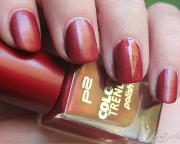 [NOTD] p2 Color Trend polish - 060 Marsala Satin