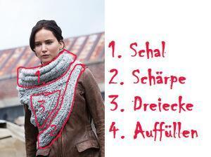 Katniss' Schal – DIY