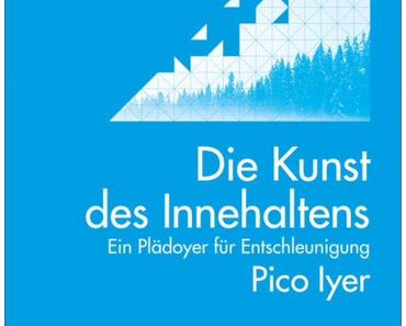 Die Kunst des Innehaltens~ Ein Plädoyer für Entschleunigung von Pico Iyer.