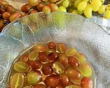 Es herbstelt: Schicht für Schicht zum feinen Traubendessert