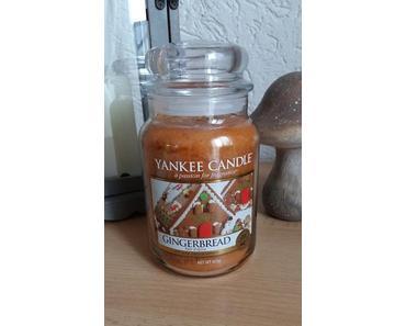 YANKEE CANDLE Gingerbread - die Duftkerze im Apothekerglas