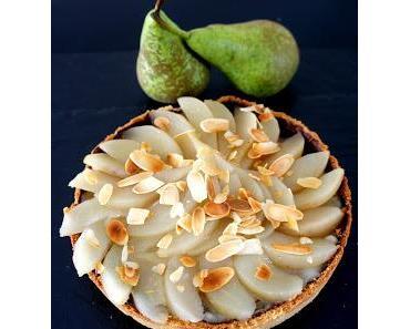 Birnen-Vanillecreme-Torte